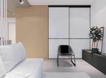 Modest Size Modern Interiors That Flirt With Feature Walls images 24