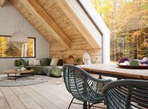A Cozy Modern Rustic Cabin In The Trees images 0