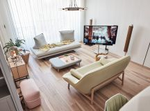 Family Home With Dashes Of Pastel Colour Decor images 0