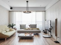 Family Home With Dashes Of Pastel Colour Decor images 2