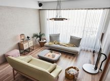 Family Home With Dashes Of Pastel Colour Decor images 3
