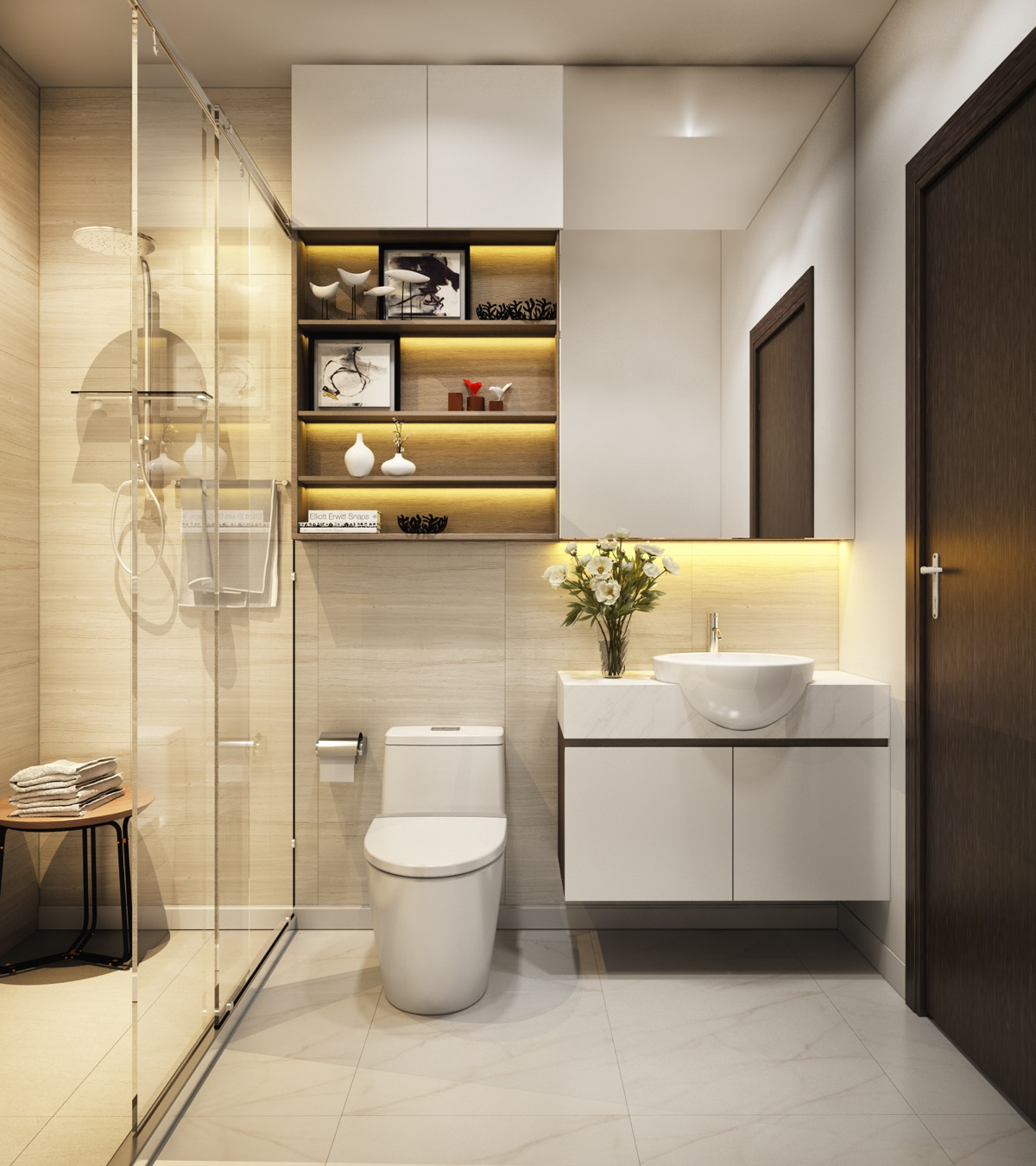 Modern Small Bathroom 40 Modern Minimalist Style Bathrooms