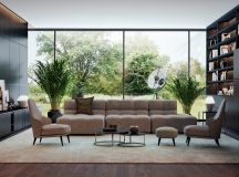Living Rooms With Brown Sofas: Tips And Inspiration For Decorating Them images 14