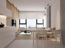 Modest Size Modern Interiors That Flirt With Feature Walls images 3