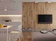 Modest Size Modern Interiors That Flirt With Feature Walls images 0