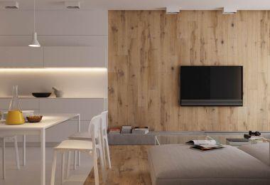 Modest Size Modern Interiors That Flirt With Feature Walls