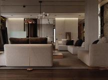 Luxury Apartment Interior Design Using Copper: 2 Gorgeous Examples images 18