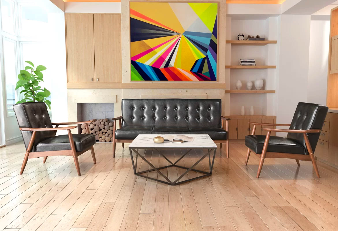 mid century modern living room furniture spanish style 30 mesmerizing rooms and their design guides 12 source wayfair