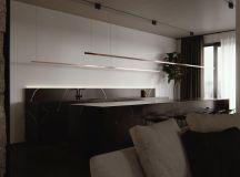 Luxury Apartment Interior Design Using Copper: 2 Gorgeous Examples images 23