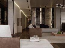 Luxury Apartment Interior Design Using Copper: 2 Gorgeous Examples images 21