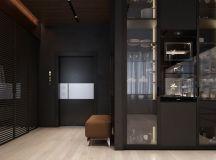 Luxury Apartment Interior Design Using Copper: 2 Gorgeous Examples images 9