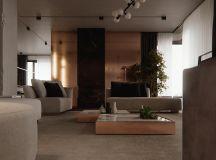 Luxury Apartment Interior Design Using Copper: 2 Gorgeous Examples images 15