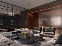 Luxury Apartment Interior Design Using Copper: 2 Gorgeous Examples images 1