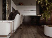 Luxury Apartment Interior Design Using Copper: 2 Gorgeous Examples images 20