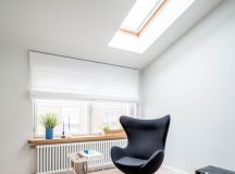 Go Black or White In These Two Sloped Ceiling Apartments images 3