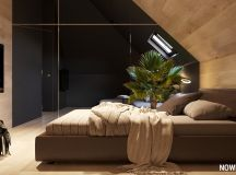 Go Black or White In These Two Sloped Ceiling Apartments images 20