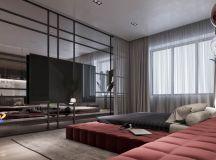 Luxury Apartment Interior Design Using Copper: 2 Gorgeous Examples images 12
