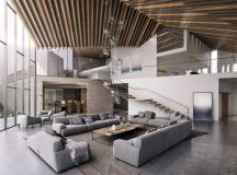 50 Modern Living Rooms That Act As Your Home's Centrepiece images 27
