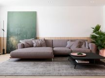 Functional Minimalist Home With Brave Colours And Bespoke Installations images 0