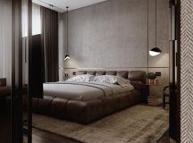 Luxury Apartment Interior Design Using Copper: 2 Gorgeous Examples images 28