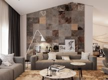 Living Rooms With Brown Sofas: Tips And Inspiration For Decorating Them images 24
