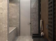 Luxury Apartment Interior Design Using Copper: 2 Gorgeous Examples images 14