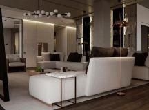 Luxury Apartment Interior Design Using Copper: 2 Gorgeous Examples images 17