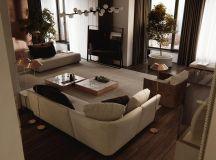 Luxury Apartment Interior Design Using Copper: 2 Gorgeous Examples images 22