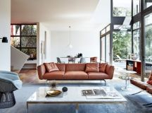 Living Rooms With Brown Sofas: Tips And Inspiration For Decorating Them images 1