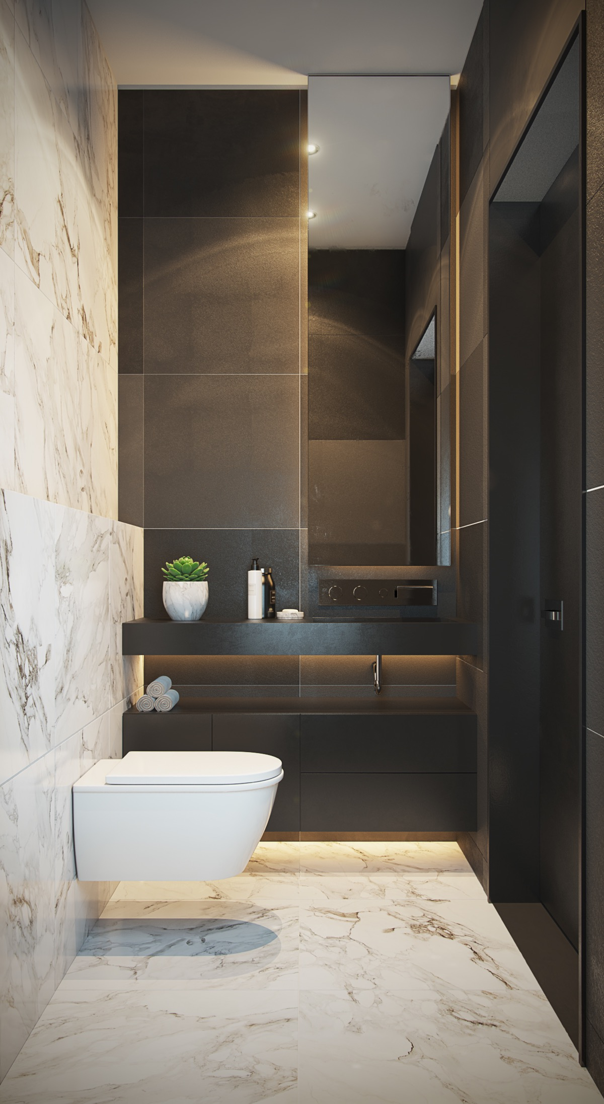 title | Small Minimalist Bathroom