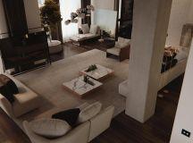 Luxury Apartment Interior Design Using Copper: 2 Gorgeous Examples images 19