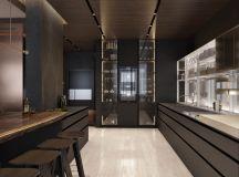 Luxury Apartment Interior Design Using Copper: 2 Gorgeous Examples images 7