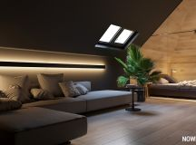 Go Black or White In These Two Sloped Ceiling Apartments images 15