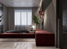 Luxury Apartment Interior Design Using Copper: 2 Gorgeous Examples images 11