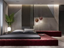 Luxury Apartment Interior Design Using Copper: 2 Gorgeous Examples images 10