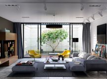 50 Modern Living Rooms That Act As Your Home's Centrepiece images 29