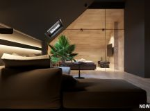 Go Black or White In These Two Sloped Ceiling Apartments images 16