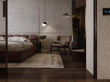 Luxury Apartment Interior Design Using Copper: 2 Gorgeous Examples images 27