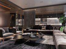 Luxury Apartment Interior Design Using Copper: 2 Gorgeous Examples images 2