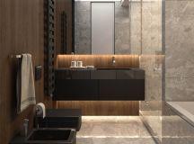 Luxury Apartment Interior Design Using Copper: 2 Gorgeous Examples images 13