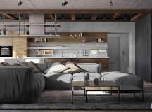 Three Homes Using Exposed Brick, Wood Panelling and Grey To Their Advantage images 0