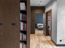 Three Homes Using Exposed Brick, Wood Panelling and Grey To Their Advantage images 29