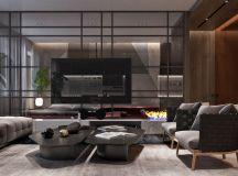 Luxury Apartment Interior Design Using Copper: 2 Gorgeous Examples images 4