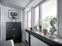 2 Gorgeous Attic Apartments That Use Grey As Base images 9