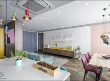 Apartment With Energised Colour Scheme