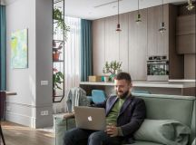 Apartment With Energised Colour Scheme images 3