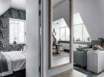 2 Gorgeous Attic Apartments That Use Grey As Base images 8