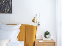 Green and Gold Interior With Modern Eclectic Vibe [Includes Floor Plans] images 14