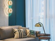 Green and Gold Interior With Modern Eclectic Vibe [Includes Floor Plans] images 2