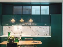 Green and Gold Interior With Modern Eclectic Vibe [Includes Floor Plans] images 9